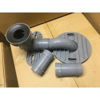 Buy cheap Gray PVC Toilet Siphon Tube , Toilet Drain Fittings Washroom Appliance Connector product