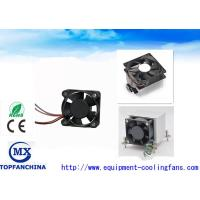 Buy cheap Computer Case Cpu Cooling Fan High Speed 12000rpm , DC Axial Motor Mini Size from Wholesalers