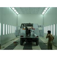 China 2 Rows Of Pits Side Draft Paint Booth For Painting And Drying Bus on sale