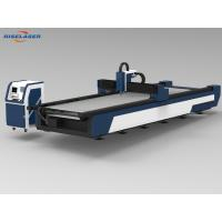 Buy cheap Stable Metal Fiber Laser Cutting Machine , Z Axis Cnc Metal Laser Cutting from wholesalers