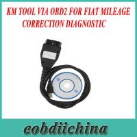 Buy cheap KM TOOL VIA OBD2 For FIAT Mileage Correction Diagnostic with Good quality product