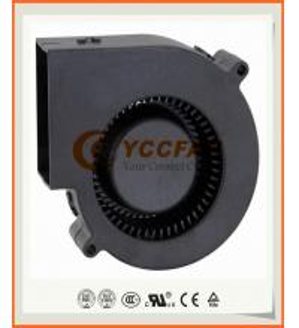China 90mm 9733 high CFM mini brushless nmb bearing 12v dc centrifugal fan blower on sale