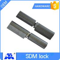 China Zinc Plated Furniture Lock Hardware / Heavy Duty Door Hinges ODM Service on sale
