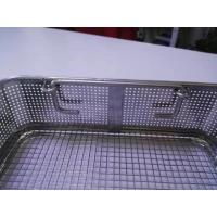 Buy cheap Custom Punched Medical Disinfection Basket product