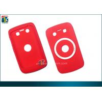Buy cheap Red Camera Silicon Gel Case With Rubberized Coating for Blackberry Bold 9900 product