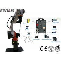 Buy cheap Automatic Multi - Station Fixed Robot Welding Workstation, 6 Axis Mig Welding Manipulator product