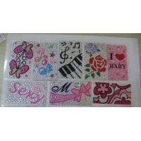 China Printed Acrylic Stone Stickers in Decoration on sale