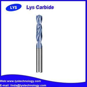 China Solid Carbide twist drill bit on sale