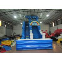 Buy cheap Digital print inflatable Naval Air Force Helicopter standard slide inflatable high dry slide for Children under 15 years product