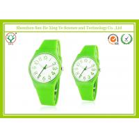 China Simple Eco-friendly Casual Sport Watches Green For Women / Men on sale