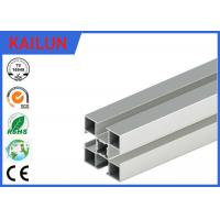 Buy cheap 3838 T Slot Custom Aluminum Extrusions Material With Silver Anodized Surface Treatment product