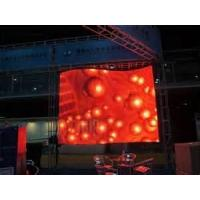 Buy cheap 6944 pixel IP65 Outdoor rental fixed DIP 346 led video wall Steel Cabinet  product