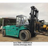 Japanese Mitsubishi Second Hand Diesel Forklifts / 30ton Used Forklift Trucks for sale