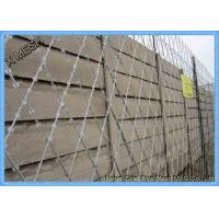 Buy cheap Galvanized Razor Barbed Wire Fence / Security Barbed Wire Mesh SGS Listed product