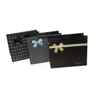 Buy cheap Cute Dots Paper Party Bag Decorating with butterfly bow for Advertising Packing product