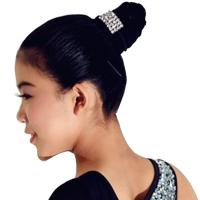 Buy cheap Decorative Hair Pins Dance Wear Accessories Shiny Cute Crystal Head Piece product