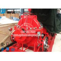 Buy cheap NFPA 20 Standard Fire Fighting Water Pump , Electric Motor Driver Horizontal Split Case Fire Pump product