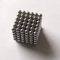 Buy cheap nickel black silver gold neodymium ball magnet product