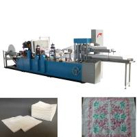 Buy cheap Double Decks Two Color Printing Napkin Paper Making Machine product