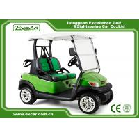 China EXCAR ADC Motor 2 Seater Electric Powered Golf Carts Aluminum Chassis on sale