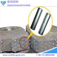 China TiC-based cemented carbide rods/titanium carbide rods for crusher hammer on sale