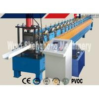 Buy cheap Rain Gutter Roll Forming Machine PLC Control 0.4 - 0.6mm Thickness product