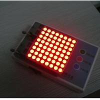 China Advertising 8x8 Dot Matrix Display / Dot Matrix LED Running Display on sale