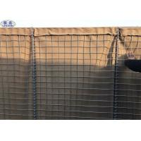 Buy cheap Army Sand Filled Barriers Welded Wire Mesh Box 75mm x 75mm 76.2 x 76.2mm product