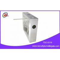 Buy cheap 304 Stainless Steel Gate Turnstile , Fingerprint Tripod Gate With Counter Function from Wholesalers