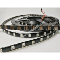 China WS2812B WS2813B digital led strip with the capacitance and resistance packaged inside 5050 led on sale