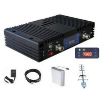 Buy cheap 3G Mobile Signal Booster 10dBm power 60dB Gain 100sqm coverage with Accessories product