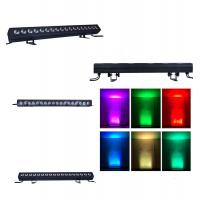 Buy cheap IP20 LED Wall Washer Lights , 18 * 12 Watt 4 In 1 RGBW Stage Lights Lighting product