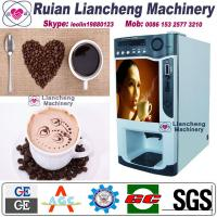 Buy cheap instant coffee and tea vending machine Bimetallic raw material 3/1 microcomputer Automatic Drip coin operated instant product