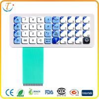 Buy cheap Polyester Single Sided PC Membrane Switch Keypad Waterproof Switches Panels product