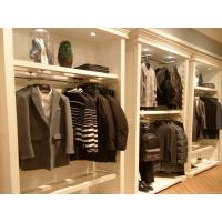 China Environmental Men'S Garment Rack / Garment Showroom Display For Clothes Shop on sale