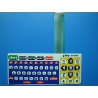 China Single Tactile PET / PC Waterproof Membrane Switch For Computer Keyboard on sale