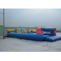 Buy cheap Durable Commerical grade inflatable obstacle course , PVC Inflatable Amusement Park Toy product