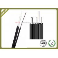 Buy cheap Light Weight FTTH Aerial Drop Cable Novel Flute With Non - Metal Strength Member product