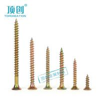 Buy cheap pozi countersunk head/flat head/csk head chipboard screws zinc plated factory in china from Wholesalers