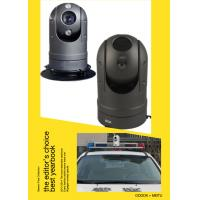 China CCTV 16- Bit Processor Police Car PTZ Camera With Auto Tracking , CCD Sensor on sale