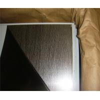 Quality High quality construction material embossed gold 1.2mm stainless steel sheet contract distributor retailer wholesaler for sale