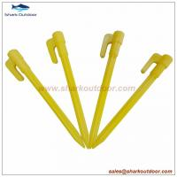 "Buy cheap 6"" Mini Plastic tent pegs tent stake garden pegs from Wholesalers"