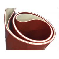 China Endless PTFE Or Nomex Silicone Coated Belts on sale