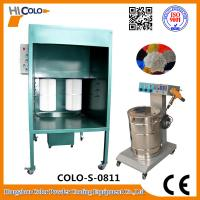 Buy cheap Powder Coating Spray Booth Manual Temporary Spray Booth For Metal Accessories product