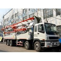 China 52m Length Pump Used Concrete Pump Truck HONGDA Brand EuroⅢ Emission Standard on sale