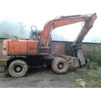 Buy cheap Used Wheel Excavators Hitachi ZX160W product