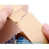 Buy cheap Water-activated Reinforce Kraft Gummed Paper Tape for Sealing & Strapping,Self adhesive kraft paper gummed tape bagease product