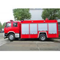 Buy cheap Fire Fighting Vehicles For Emergency Fire Rescue , Fire Service Truck Dongfeng product