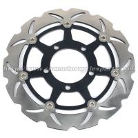 Buy cheap ZX6RR Motorcycle Floating Brake Disc Kawasaki ZX6R NINJA 636 Aluminum Steel product