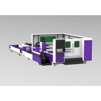 Buy cheap Metal Sheet / Tubes Industrial Laser Cutting Machine Dual Motor High End CNC System product